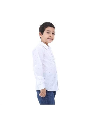 Robe di Kappa Rdk Çocuk Gömlek Luc  Beyaz